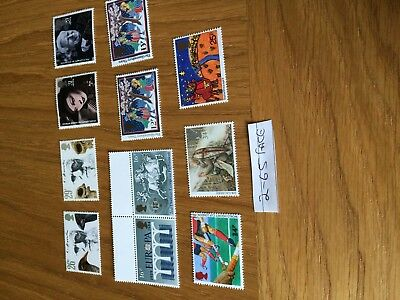 a selection of gb stamps for cheap postage