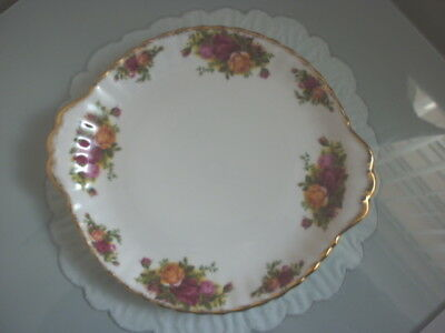 Royal Albert Old Country Roses Sandwich Plate - 26.5 Cms