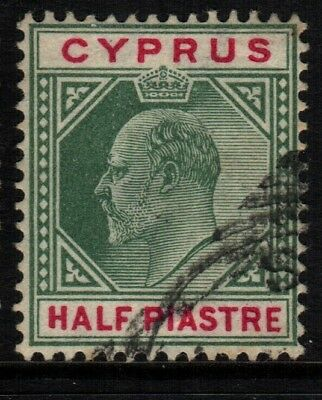 ~ Cyprus, Used, #38, Inverted Wmk, Great Centering