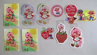 Lot Of 11 New Strawberry Shortcake Stickers