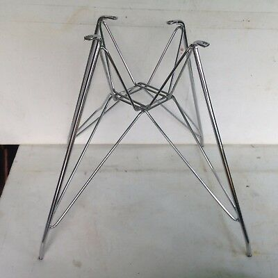 New Retro Vintage Style Silver Metal Steel Hairpin Table Legs