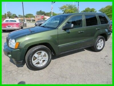 2007 Jeep Grand Cherokee Laredo 2007 Laredo Used 3.7L V6 12V Automatic 4WD SUV clean clear title carfax moonroof
