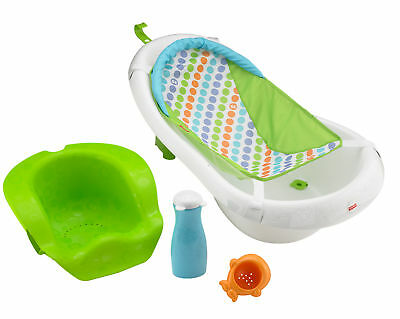 New Fisher-Price 4-in-1 Sling and Seat Tub - Green Model:869F24BD