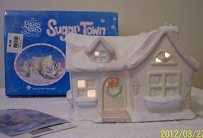 Precious Moments  SUGAR TOWN  SAM'S HOUSE  LIGHTED   RETIRED