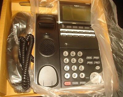 NEC DT300 DTL-12D-1 680002 12-Button Display Digital Office Phone Black ~NEW~