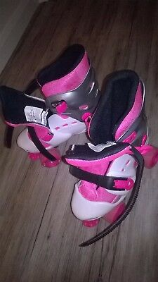 No Fear..girls Roller Boots..size 1-4..great Used Condition