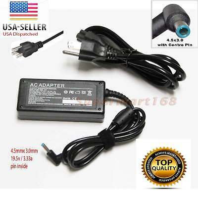65W 19.5V 3.33A AC Adapter Charger for HP Pavilion 15 17 Series POWER SUPPLY