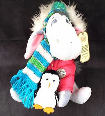 DISNEY Eeyore In Pink Coat Limited Edition Number 1630 Of 4500 Circa 2008 - M05