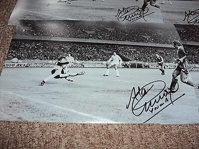 12x8 LIVERPOOL PHOTO HAND SIGNED ALAN 'BARNEY' KENNEDY LIVERPOOL EURO CUP GOAL