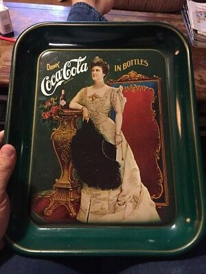 1977 75th ANNIVERSARY THE DIXIE COCA-COLA BOTTLING Vintage tin tray. COKE
