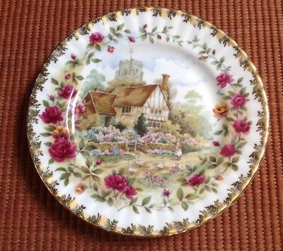 Royal Albert. Old Country Rose. Summer From Four Seasons. Plate
