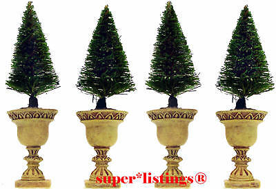Dept. 56 Potted Topiaries Set of 4 Seasons Bay 53370 Free Shipping