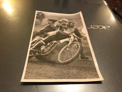 Edinburgh Monarchs-Willie Templeton-5X3--1960's---Speedway-Action Photo-Original