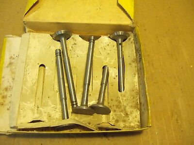 Oliver Tractor Exhaust Valves Set Of Five 770 880 1650 1800 1655