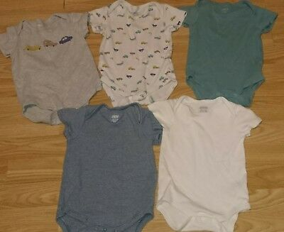 5 mamas and papas bobysuits age 9-12 months
