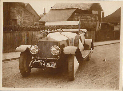 ROLLS ROYCE REG No.R-4085, PHOTOGRAPH.