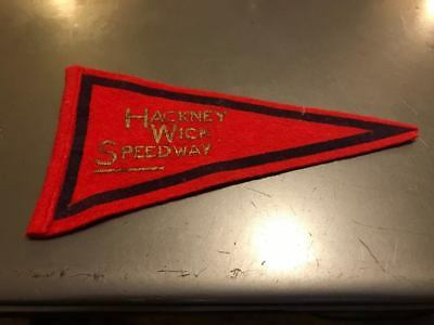 Hackney Wick---Speedway---1960's---Cloth Pennant