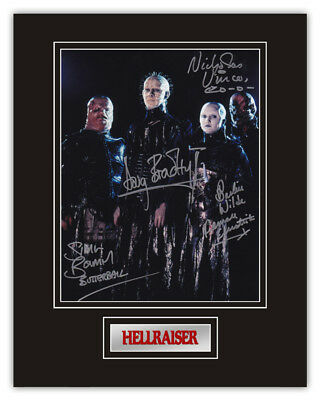 Sale! Hellraiser Pinhead Chatterer Butterball Female Signed 14x11 Display