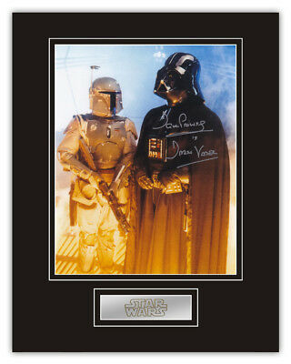 Sale! Star Wars Dave Prowse (Darth Vader) Signed 14x11 Display (DV03)