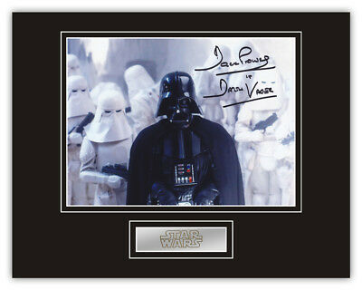 Sale! Star Wars Dave Prowse (Darth Vader) Signed 14x11 Display (DV11)