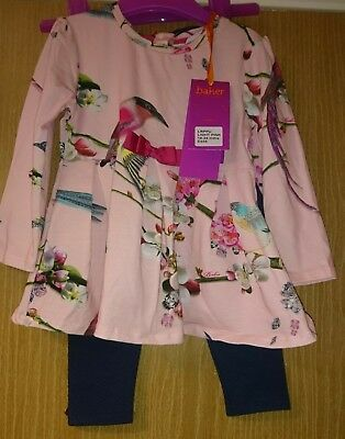 Baker by Ted Baker girls tunic and Leggings outfit age 18-24 mths (new with tags