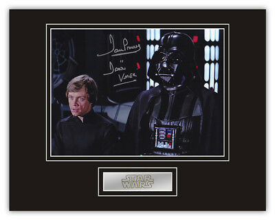 Sale! Star Wars Dave Prowse (Darth Vader) Signed 14x11 Display (DV25)