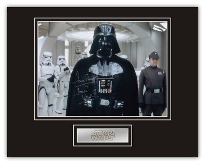 Sale! Star Wars Dave Prowse (Darth Vader) Signed 14x11 Display (DV26)