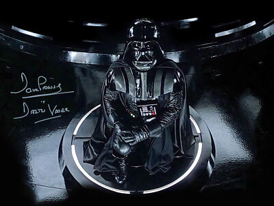 Sale! Star Wars Dave Prowse (Darth Vader) Signed 16x12 Photo 02