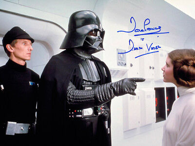 Sale! Star Wars Dave Prowse (Darth Vader) Signed 16x12 Photo 06