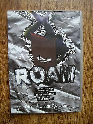 Roam Surf Film Dvd: Surfing / Boarding / Skate Board....