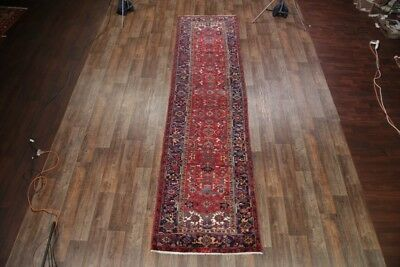 """Palace Sized All-Over Red Runner 4x14 Persian Oriental Area Rug 14' 5"""" x 3' 9"""""""
