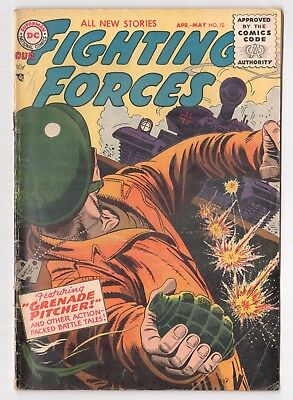 Our Fighting Forces #10 (1954 Series) Wally Wood DC Comics Apr 1956 GD/VG