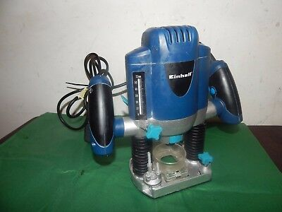 Einhell Variable Speed Plunge Router 1/4 inch Collett