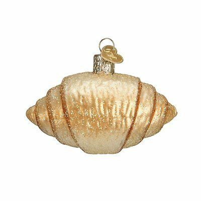 Croissant Old World Christmas Ornament NWT mouth blown glass
