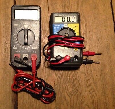 Gunsons 4143 Digital Pocket Multimeter & Draper DMM5 Multimeter Vintage Tools