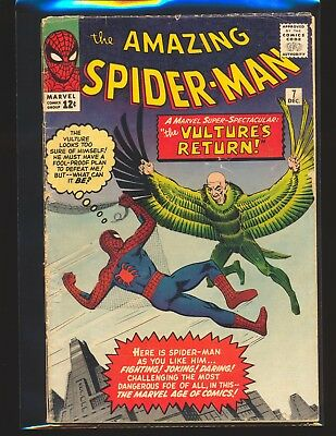 Amazing Spider-Man # 7 - Return of the Vulture Good Cond.