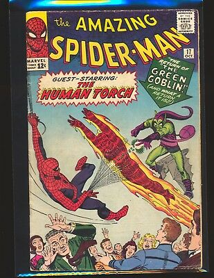 Amazing Spider-Man # 17 - 2nd Green Goblin VG Cond.