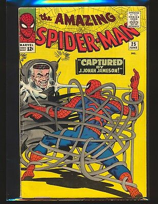 Amazing Spider-Man # 25 - 1st Mary Jane cameo VG Cond.