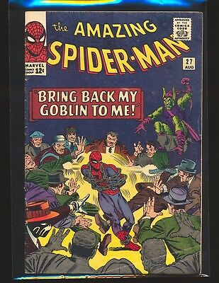 Amazing Spider-Man # 27 - Green Goblin appearance VG Cond.