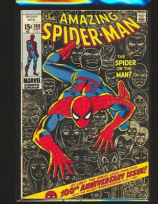 Amazing Spider-Man # 100 VG+ Cond.