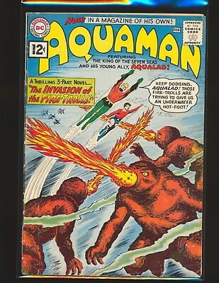 Aquaman # 1 - Nick Cardy cover VG Cond.