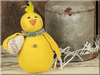 Vintage Chick with Egg by Honey and Me #S15190