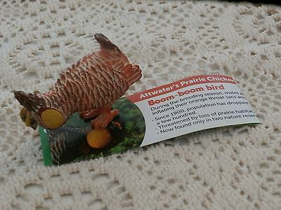 Yowies Collectible Figurine, Attwater's Prairie Chicken w Paper Yowie Figure