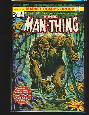 Man-Thing # 1 - 2nd Howard the Duck Fine Cond.