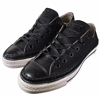 Converse by John Varvatos Chuck Taylor OX SUEDE LEATHER Sneaker BLACK 151287C