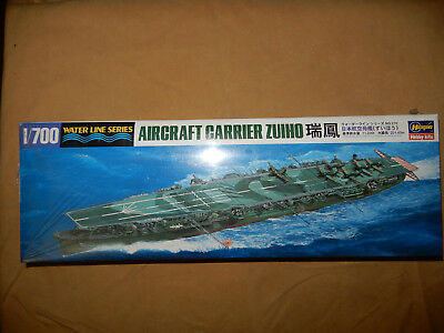 Imperial Japanese Navy Aircraft Carrier Zuiho Model Kit, 1/700 Scale Hasegawa