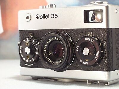 rollei 35   ( made  in Germany )avec objectif tessar 40mm