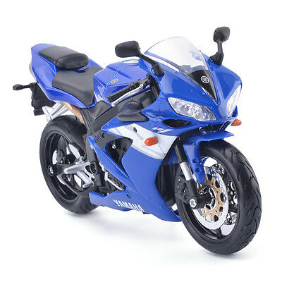 1:12 Scale Diecast Motorcycle Bike For Maisto YZF-R1 Model Toy Xmas Gift Blue