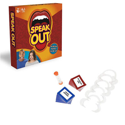 Speak Out Board Funny Family Party Game Mouthguard Challenge Xmas Adult Toys