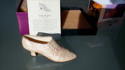 "Collectible Miniature ""Just the Right Shoe"" by Raine - Sweet Elegance (Boxed)"